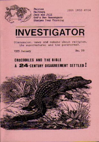 The Bible, the Crocodile, and the Crocodile\'s Tongue